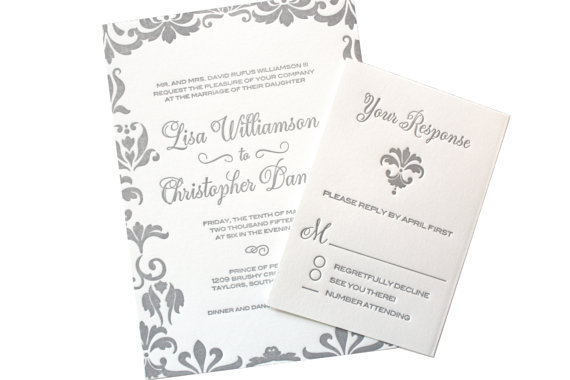 Amazing Wedding Invitation Card Cards Of Luxury Simple Golden Type Word Font Style With