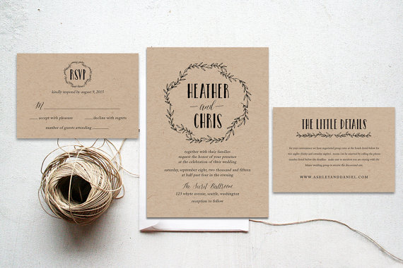 Printable Wedding Invitations Is One Of The Best Idea To Bring Your Dream Design Into Invitation 16