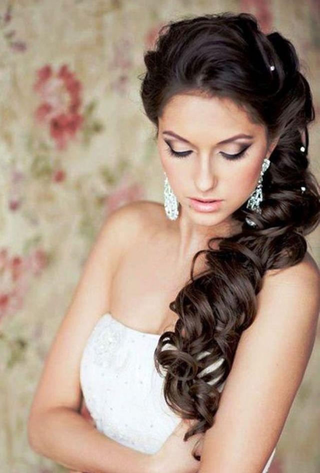 wedding hairstyles for long black hair - trends, ideas and