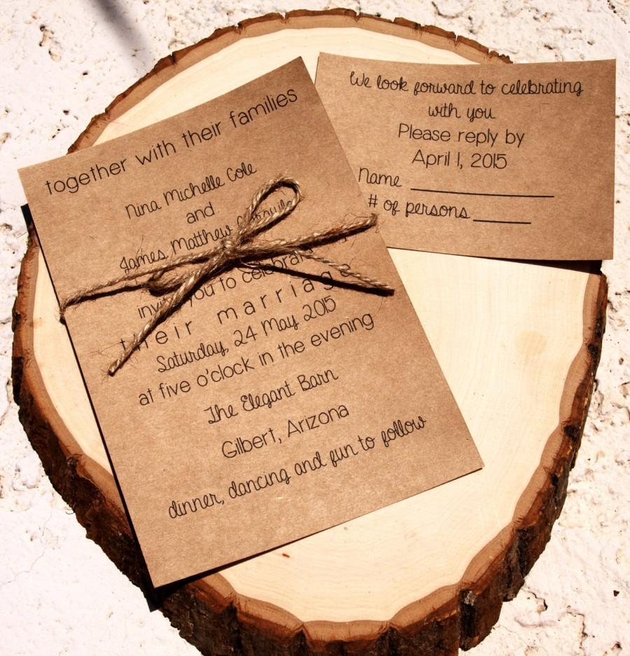Personalized Wedding Invitations