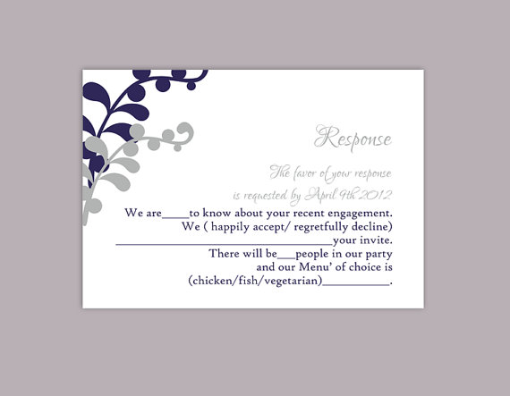 Free Rsvp Card Template 7 best images of printable rsvp cards for – Free Wedding Rsvp Cards