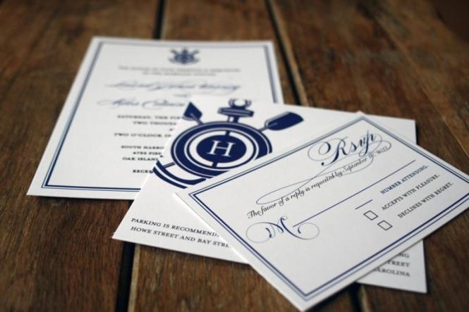 Modern Vintage Nautical Wedding