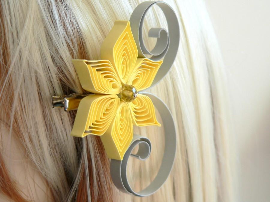 Yellow Hair Accessories Wedding Yellow Hair Accessories