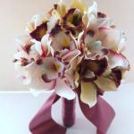Blush Pink Cymbidium Orchid Bouquet Bridal Bouquet Wedding Bouquet Bridesmaid Bouquet Toss Bouquet 2429133 Weddbook