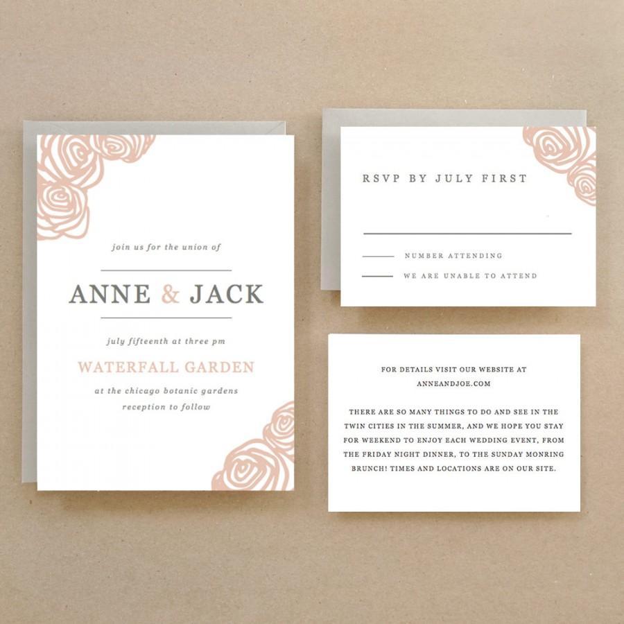 Invitation Printable Wedding Template 2435558 Weddbook Invitation