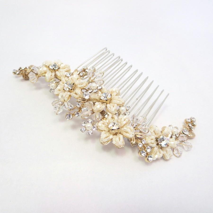 Beaded Wedding Hair Combs Fade Haircut