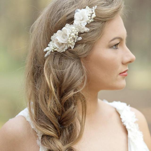 wedding hair accessories, wedding hair comb, wedding