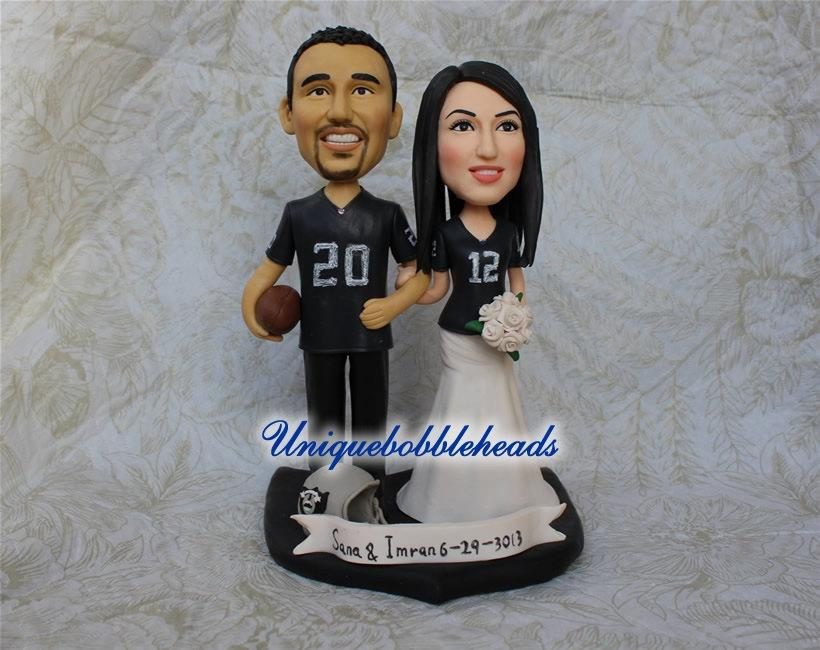 Sports Wedding Cake Topper Custom Wedding Cake Toppers