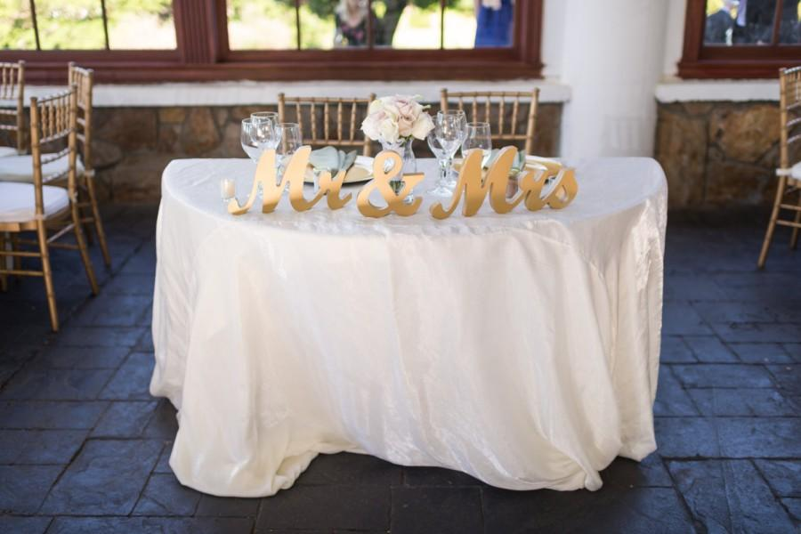 Mr And Mrs Wedding Sign Table Signs For Sweetheart Table