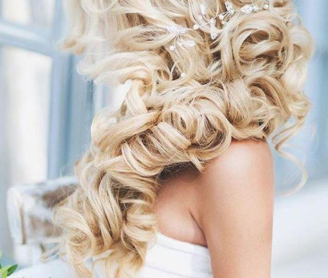 Most Romantic Bridal Updos Wedding Hairstyles