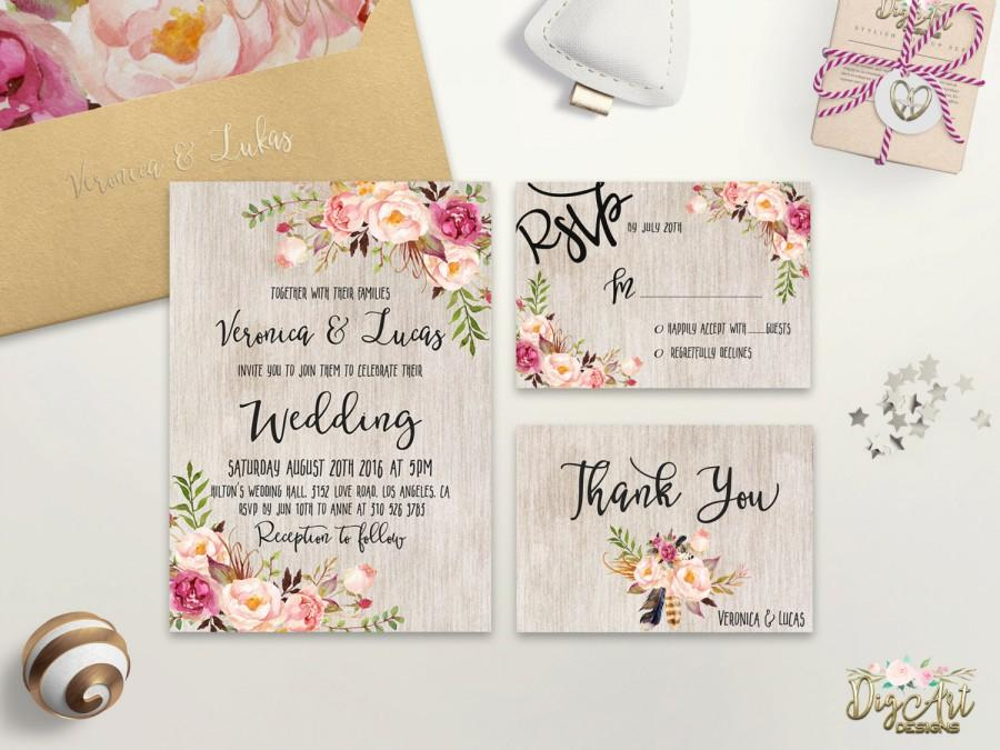 Cheap Wedding Invite Packages