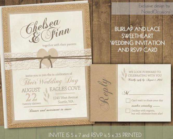 Einladung Rustic Wedding Invitations 2491420 Weddbook