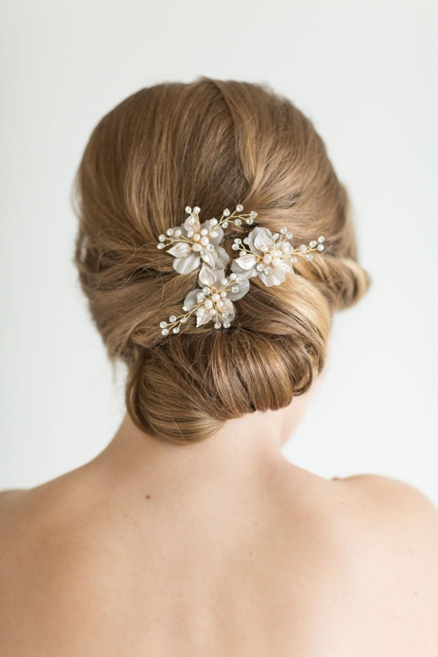 Wedding Hair Pins Bridal Hair Pins Pearl Hair Pins