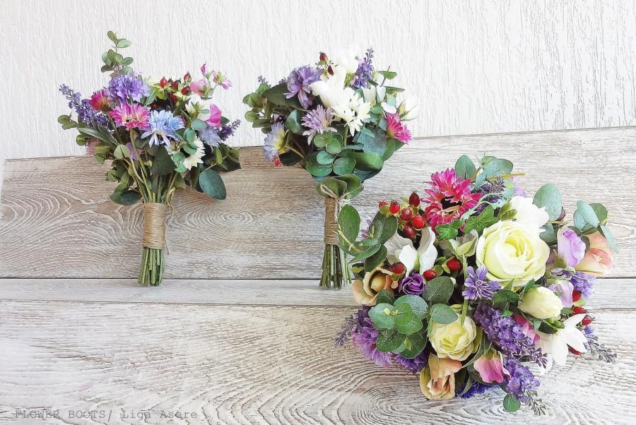 Wild Flower Wedding Package Hand Picked Spring Summer