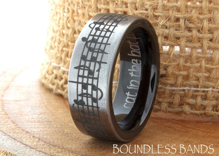 Tungsten Music Wedding Band Favorite Song Black And White