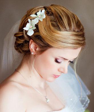 white orchid pins bridal clay orchid white hair pins wedding hair accessories bridal hair flowers bride flower pin hair pins set clay