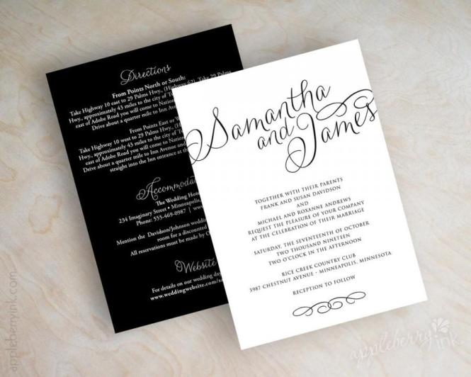 Simple Wedding Invitations Online Elegant