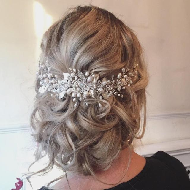 roseanna wedding hairvine - free shipping! bridal hair