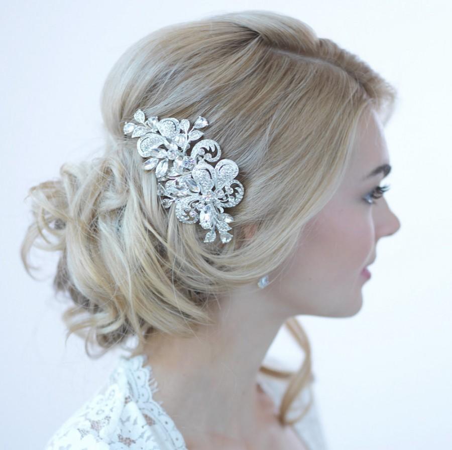 rhinestone bridal hair clip wedding hair accessories silver wedding hair clip rhinestone wedding hair clip decorative hair clip tc 2271