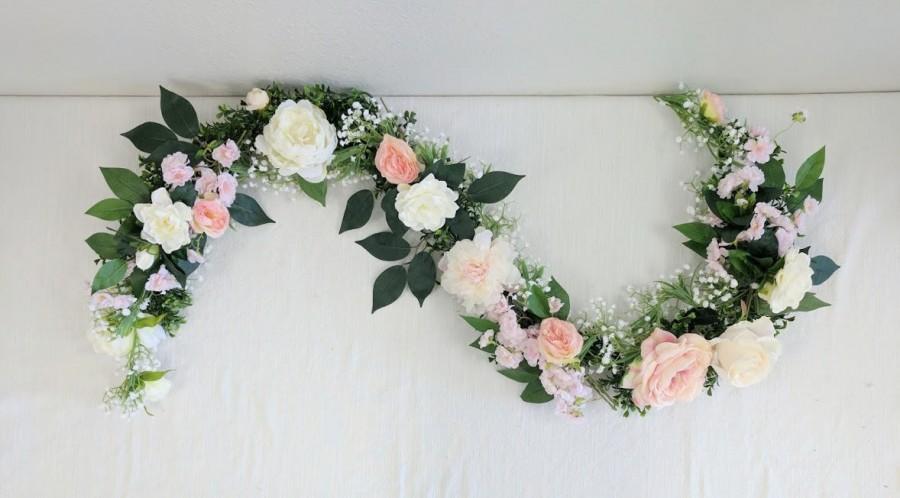 Flower Garland, Floral Garland, Wedding Garland, Silk