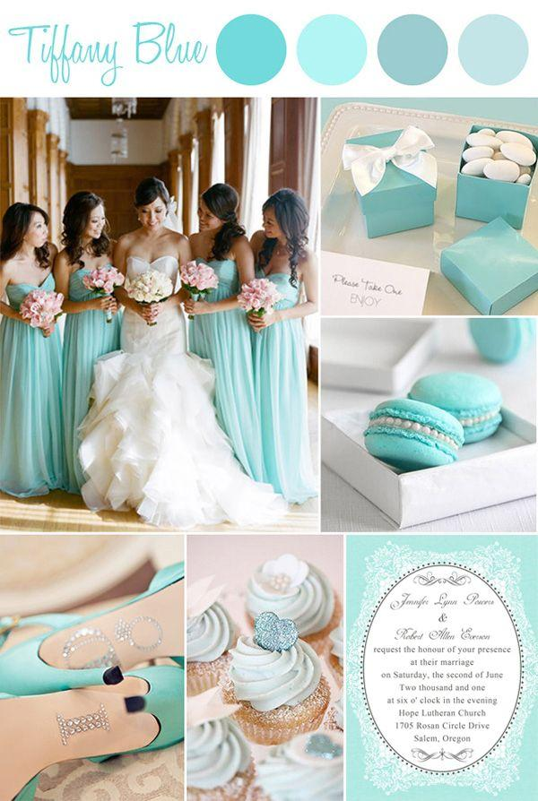 Vintage Tiffany Blue Wedding