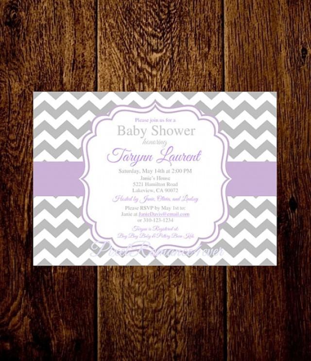 Bridal Shower Invitations When Send