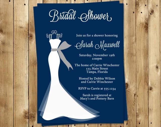 Discount Bridal Shower Invitations