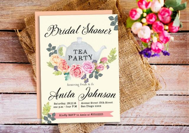 Same Day Bridal Shower Invitations