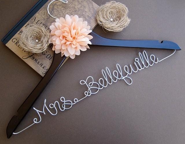 SALE Wedding Hanger / Bridesmaid Gift / Bridal Hanger