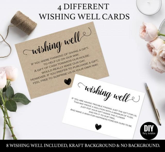 Wishing Well Cards For Wedding 2559717 Weddbook