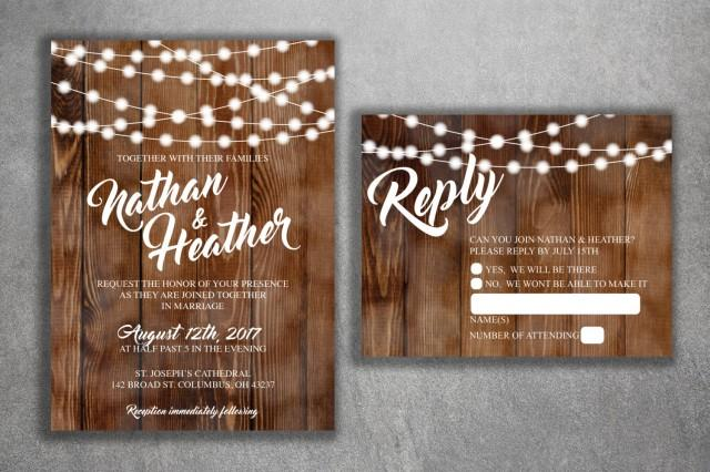 Cheap Country Wedding Invitations