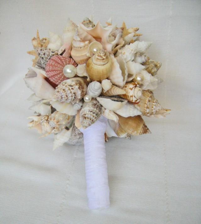 Bridal Bouquet Sea Starfish Wedding Bouquet Handmade