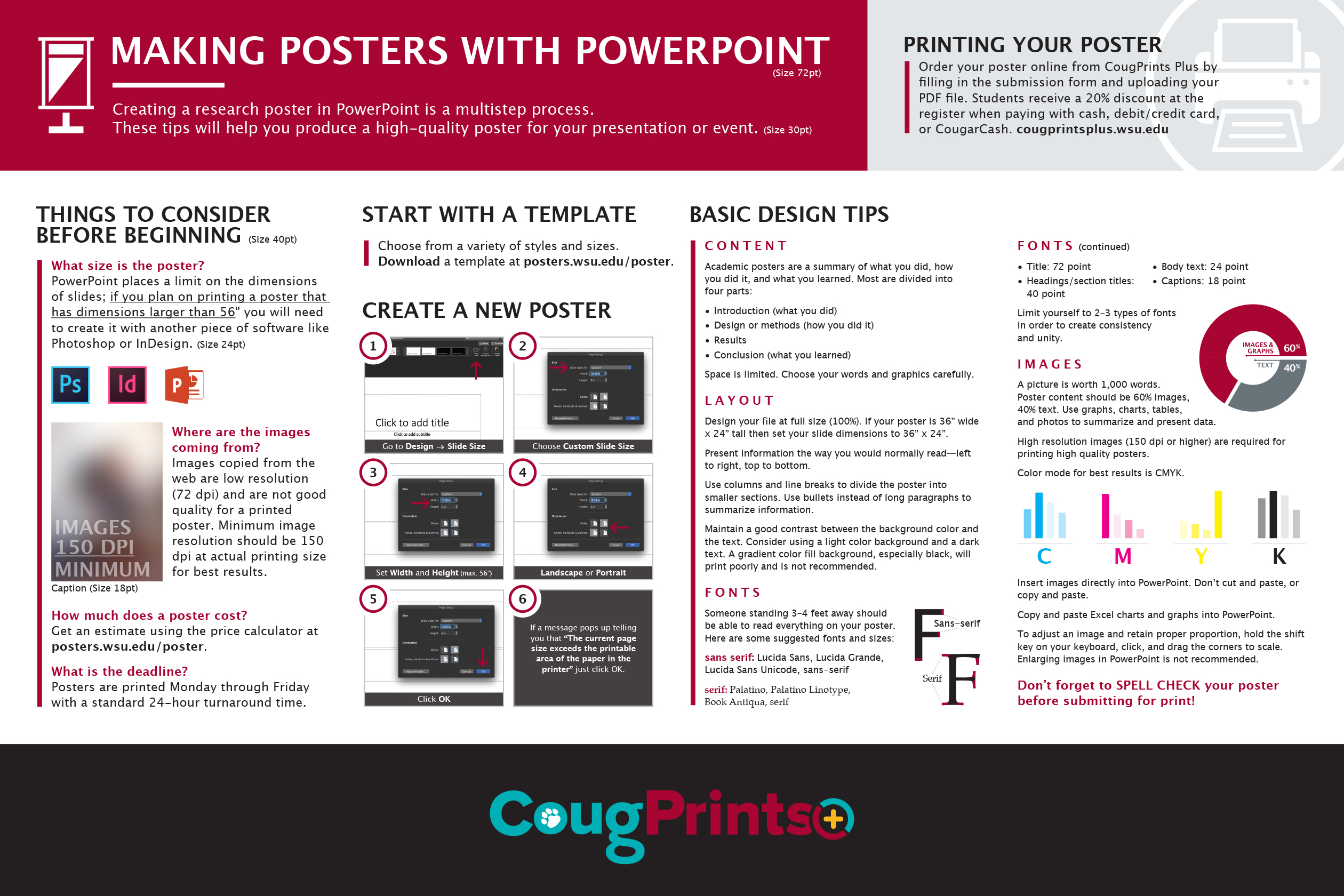 making posters with powerpoint poster