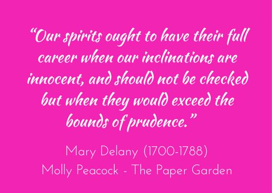 Molly Peacock - Paper Garden - Mary Delany
