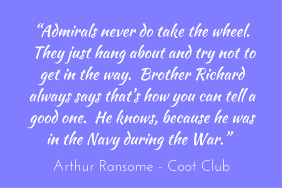 Quotation - Arthur Ransome - Coot Club