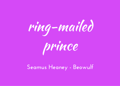 Beowulf, Heaney