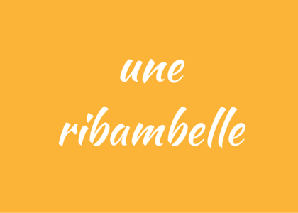 French word ribambelle