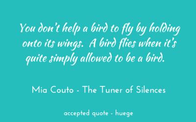 How to help a bird fly