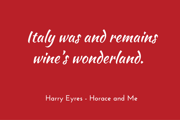 Harry Eyres - Horace and Me - quotation