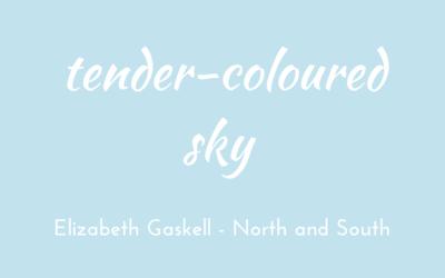 Tender-coloured sky