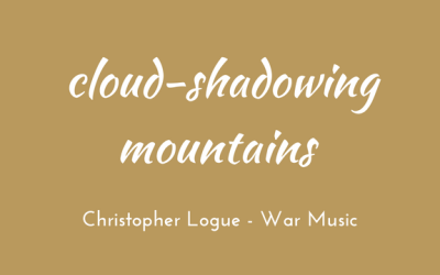 Cloud-shadowing mountains