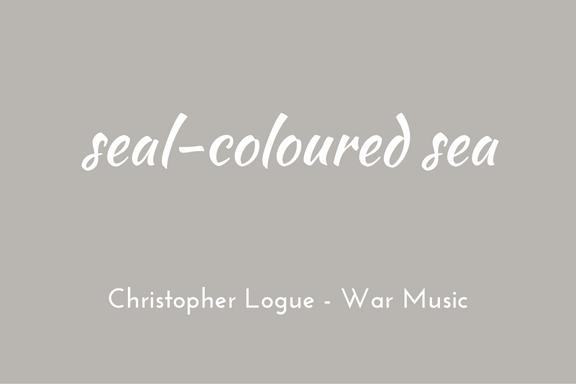 Christopher Logue - Homer - War Music