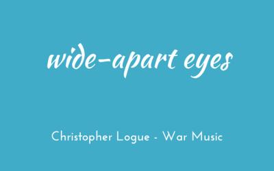Wide-apart eyes