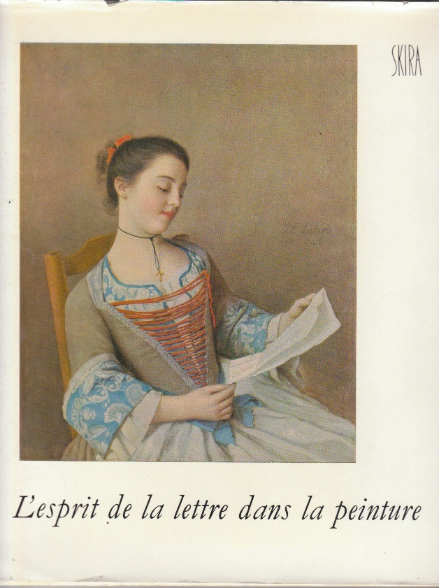 Book cover - L'esprit de la lettre by Jean Leymarie