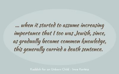 Understatement – on being Jewish