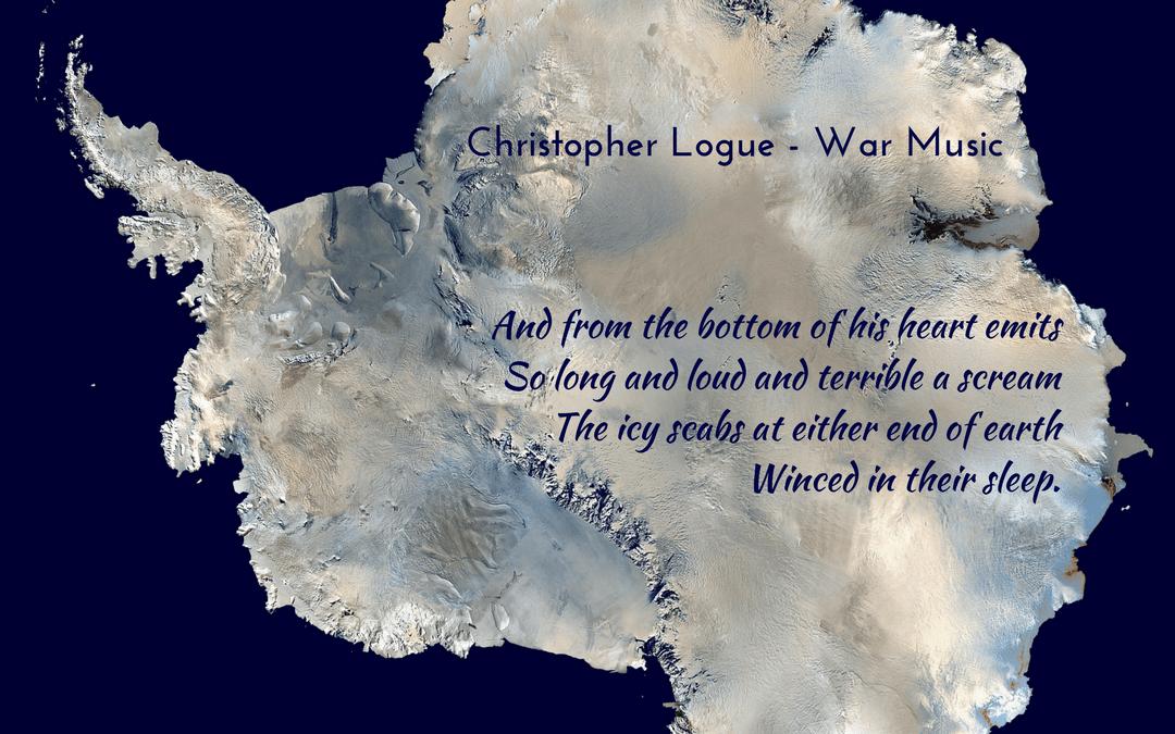 Christopher Logue - Homer - War Music - Photo credit: pixabay.com - WikiImages