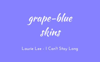 Grape-blue skins