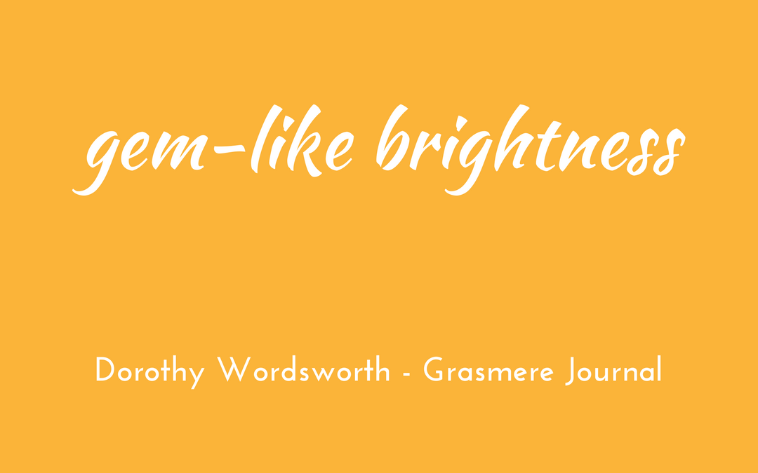 Dorothy Wordsworth - Grasmere Journal
