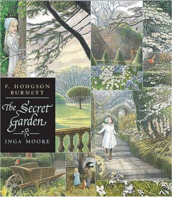 Cover - Frances Hodgson Burnett - The Secret Garden - illus. Inga Moore - paperback 2009