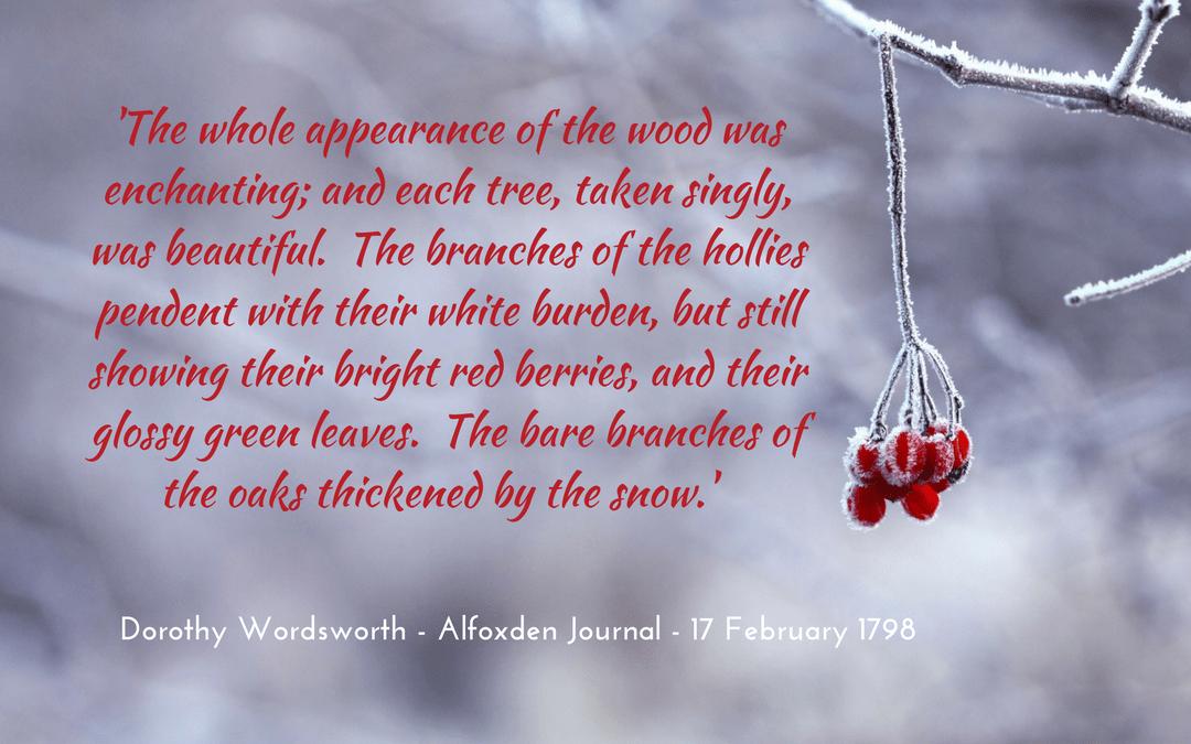 Dorothy Wordsworth - Grasmere Journal / photo credit: kristamonique at pixabay.com